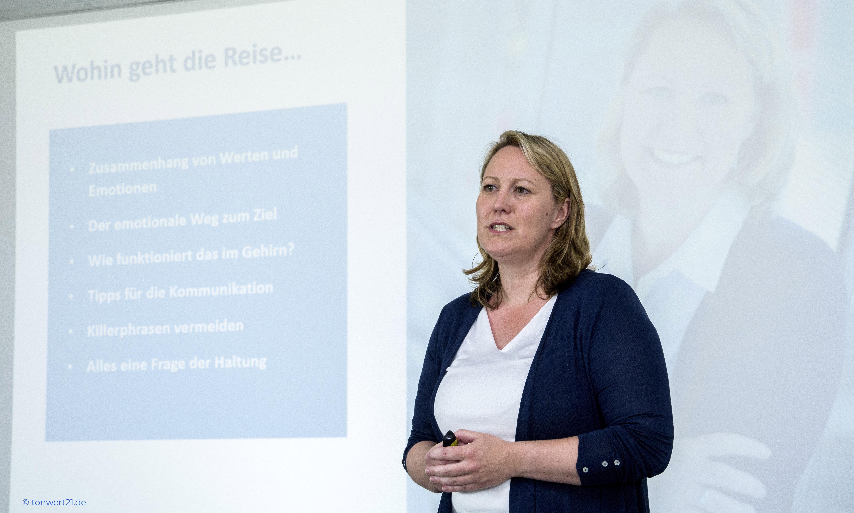 Keynote Stefanie Indrejak werteorientierte Führung